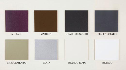 cabecero capitoné estilo vintage lista de colores a elegir para la estructura de madera del cabecero ref. 105/2
